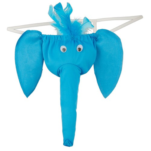 Herren Elefanten String