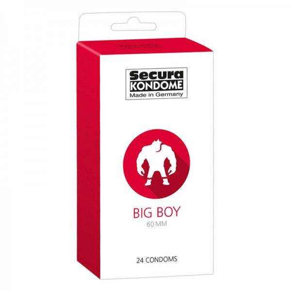 Secura Big Boy Kondome 24 Stück