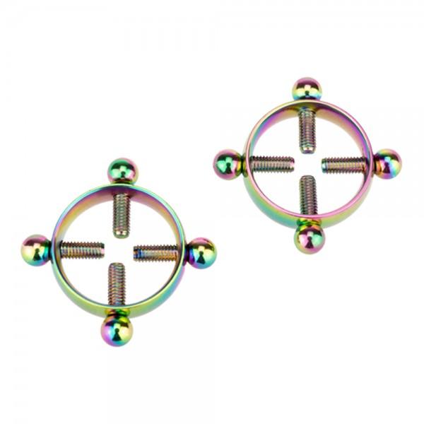 Nippelklemmen mit Schrauben - Multicolor