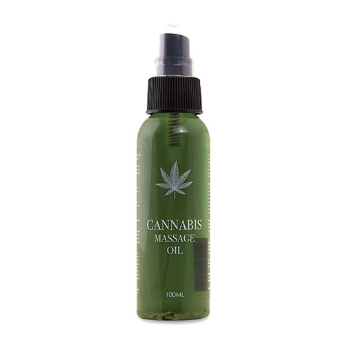 Cannabis Massage Öl - 100 ml