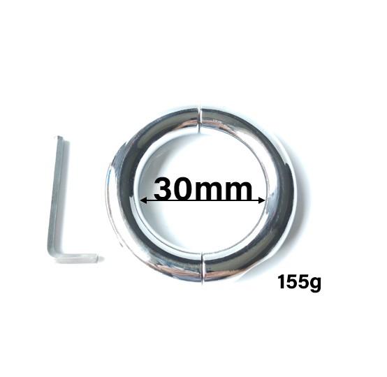 Penisringe in verschiedenen Größen mit Schraubverschluss
