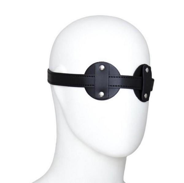 Augenmaske aus Kunstleder