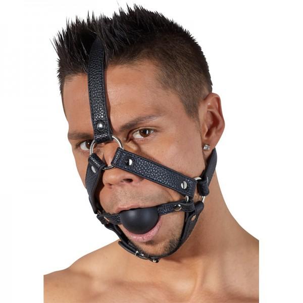 Ballknebel mit Kopfgeschirr