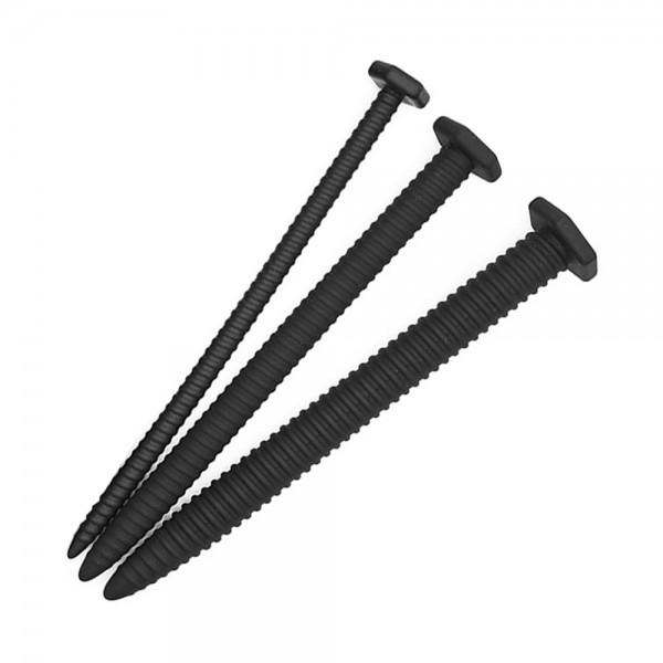 3er Set Penisplugs - geriffelt